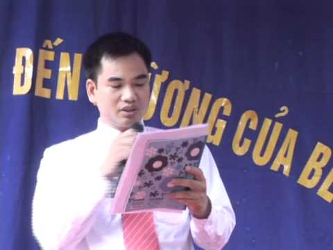 Bài phát biểu thay mặt hội cha mẹ học sinh _ Sao Mai