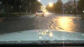 Major Flash flood mad drive