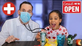 Doctor Daddy Restaurant Kids Pretend Play