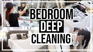 EXTREME CLEANING MY ROOM | BEDROOM CLEANING ROUTINE