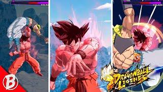 GEHEIMES EASTER-EGG!? DB-Legenden BLU-Goku Kaio-Ken Steigende Rush