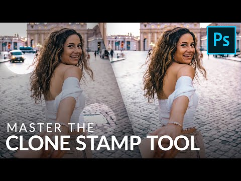 Remove Anything In Photoshop With The Clone Stamp Tool!