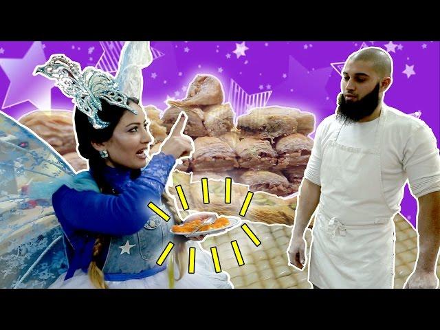نطنط نهار وأرنوب الحبوب | نطنط تذهب الى العمل - معمل الحلويات | Sweets Factory