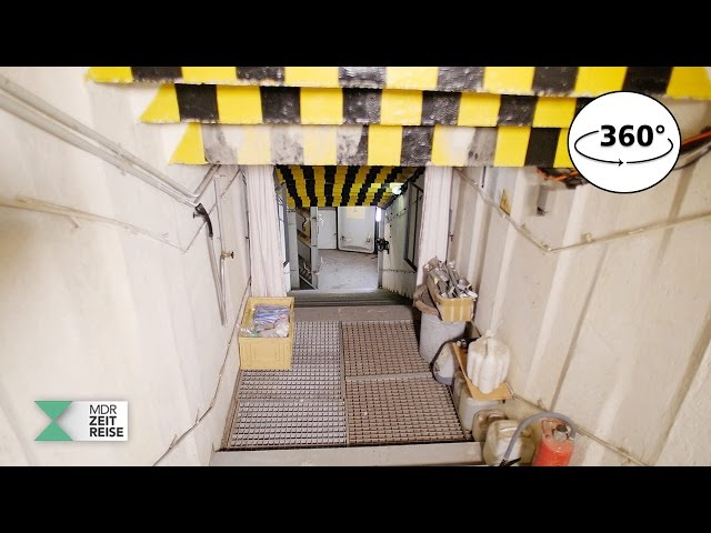 Stasi-Bunker Frauenwald | 360 VR Video | MDR ZEITREISE