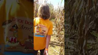 The Children Of The Corn Harry Potter Corn Maze Pt. 1