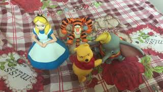 Disney Vinyl collectible dolls Winnie the Pooh Tigger Dumbo Alice 迪士尼VCD公仔 小熊維尼 跳跳虎 愛麗絲 小飛象