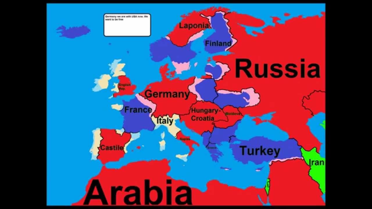 Future of Europe 6: World War 3 (FINAL)