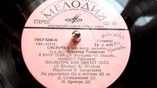 """ВІА """"Смерічка"""": Назарій Яремчук - Подивись, як цвітуть луги (Ať láska má kde kvést) - 1979"""