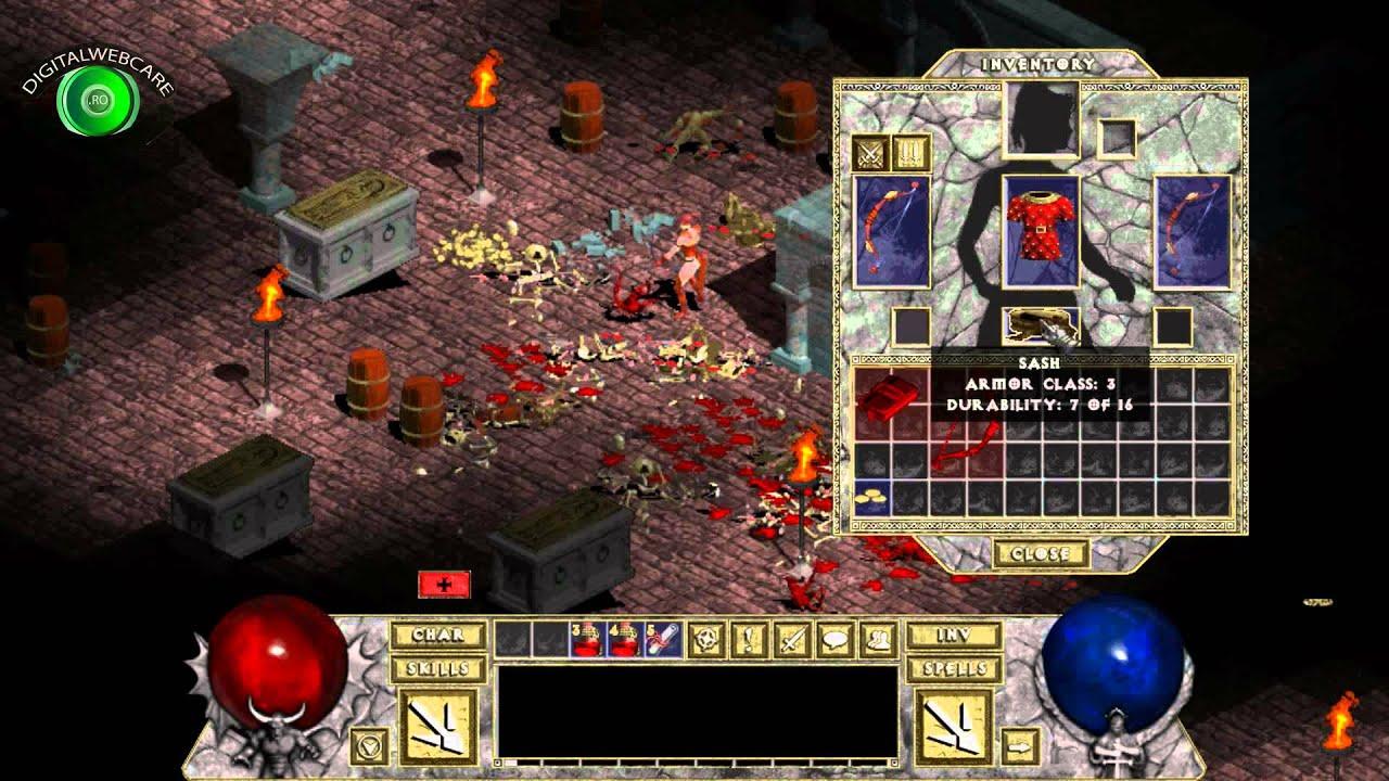 Diablo 1 HD Patch-Diablo 1 HD Gameplay-Diablo 1 High Resolution Patch - YouTube