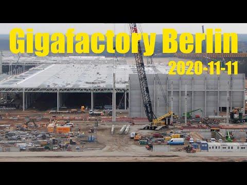 Giga Berlin | 2020-11-11 | Timelapse