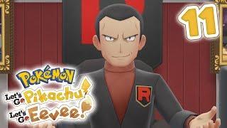 Celadon Game Corner / Giovanni | Pokémon Let's Go Pikachu! & Let's Go Eevee! Walkthrough - Part 11