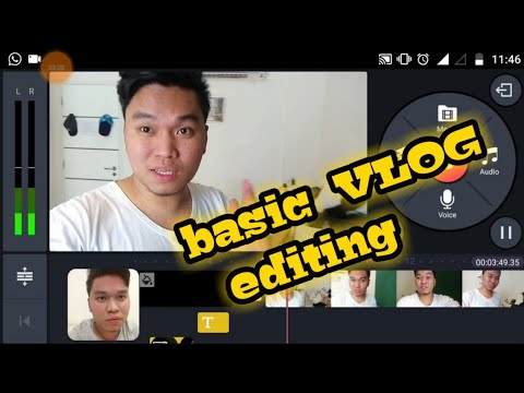 HOW I EDIT MY VLOGS/YOUTUBE VIDEOS (ANDROID PHONE) TIP & ADVICE **TAGALOG**
