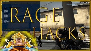 CS:GO LET'S RAGE HACK - 16:0 with 4 Hackers using Hooktronic