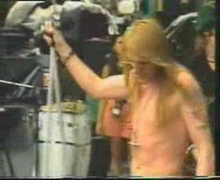 Axl Rose Soundcheck Rio 1991