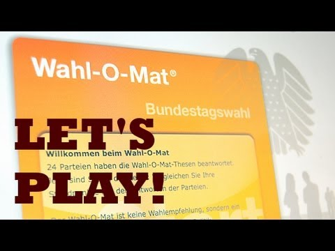 Let's Play Wahl-o-mat & ParteieNavi [HD+] [IN FARBE] [BUNT]