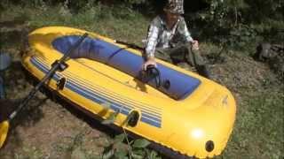 видео Детские надувные лодки с веслами купить