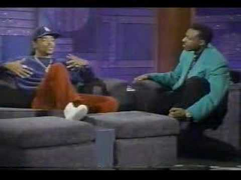 Ice T on talk show - Early 90s