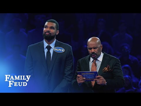 SLAM DUNK Fast Money! | Celebrity Family Feud