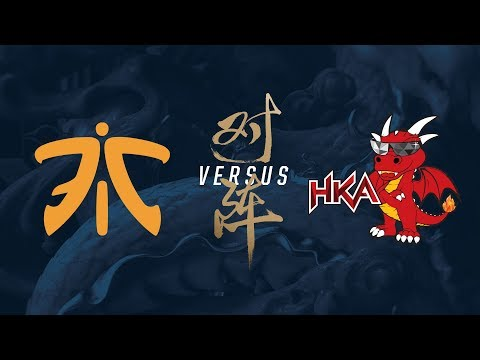 FNC vs. HKA | Play-In Elimination Game 1 | 2017 World Championship | Fnatic vs. Hong Kong Attitude