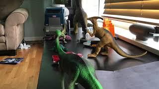 Jurassic Park Dino Battle