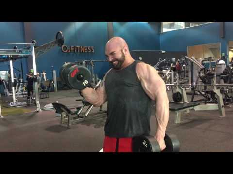 Heavy Alternating Dumbbell Curl