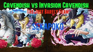 Invasion Cavendish vs Cavendish Blackbeard The Just Barely Team