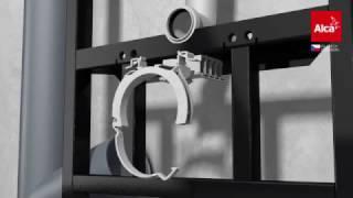 Alca plast - Instalace WC modulů