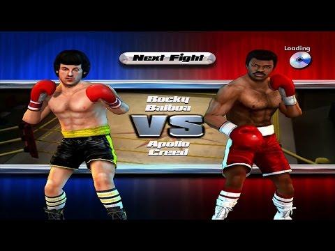 Rocky legends (PS2) Rocky Balboa vs Apollo Creed (Career Rocky Balboa)
