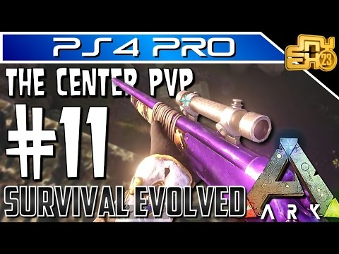 ARK OFFICIAL PVP on PS4 - EP 11 - JOURNEYMAN LONGNECK CALAMITY!!!