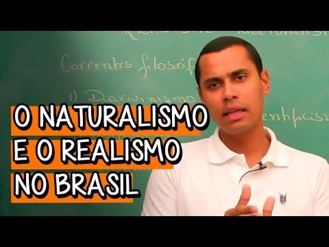 O Naturalismo e Realismo no Brasil - Extensivo Português | Descomplic