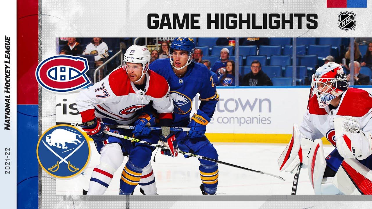 Download Canadiens @ Sabres 10/14/2021 | NHL Highlights