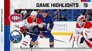 Canadiens @ Sabres 10/14/2021 | NHL Highlights