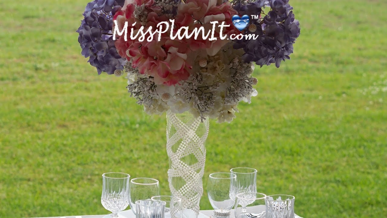 Tall Wedding Centerpiece Diy How To Create This Breath Of Fresh