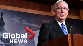Senate Majority Leader Mitch McConnell holds news conference on midterm election results