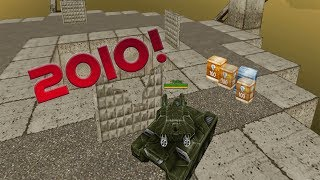 Tanki Online WITH OLD GRAPHICS!? (2010)