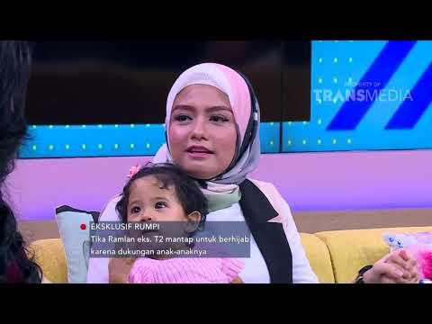 RUMPI - Tika Ramlan Mantap Untuk Berhijab Karena Dukungan Anaknya (17/1/18) Part 2