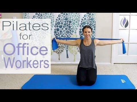 Pilates for Office Workers (and a Healthy Back)