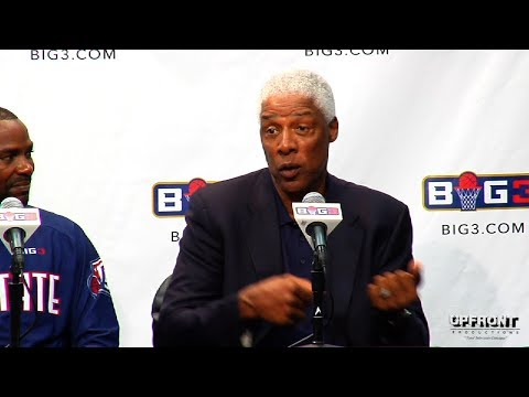 Big 3 Wrap Up with Dr. J -Julius Erving and Clyde Drexler by filmmaker Keith O