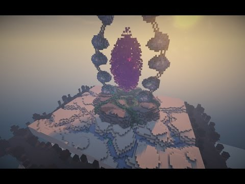 Minecraft Timelapse | Ice Portal