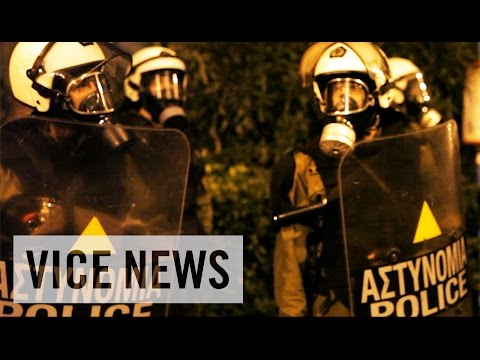 Demonstrations Turn Violent: Greece