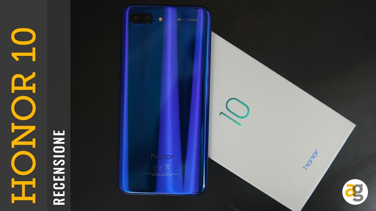 Recensione Honor 10 Youtube