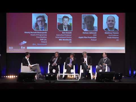 CoProduction Case Study: Spies of Warsaw  MIPTV 2013