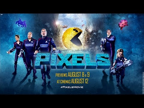 PIXELS - Official Trailer #2 - Previews August 8, 9 - At Cinemas August 12