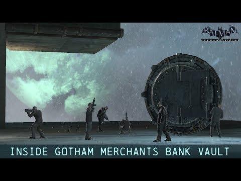 FR MOD; Batman; Arkham Origins; Inside Gotham Merchants Bank Vault
