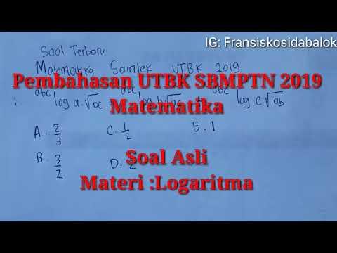 Soal Terbaru!! Matematika UTBK SBMPTN 2019