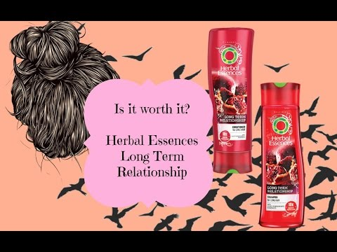 Is it worth it? Herbal Essences Long Term Relationship, Empties Review