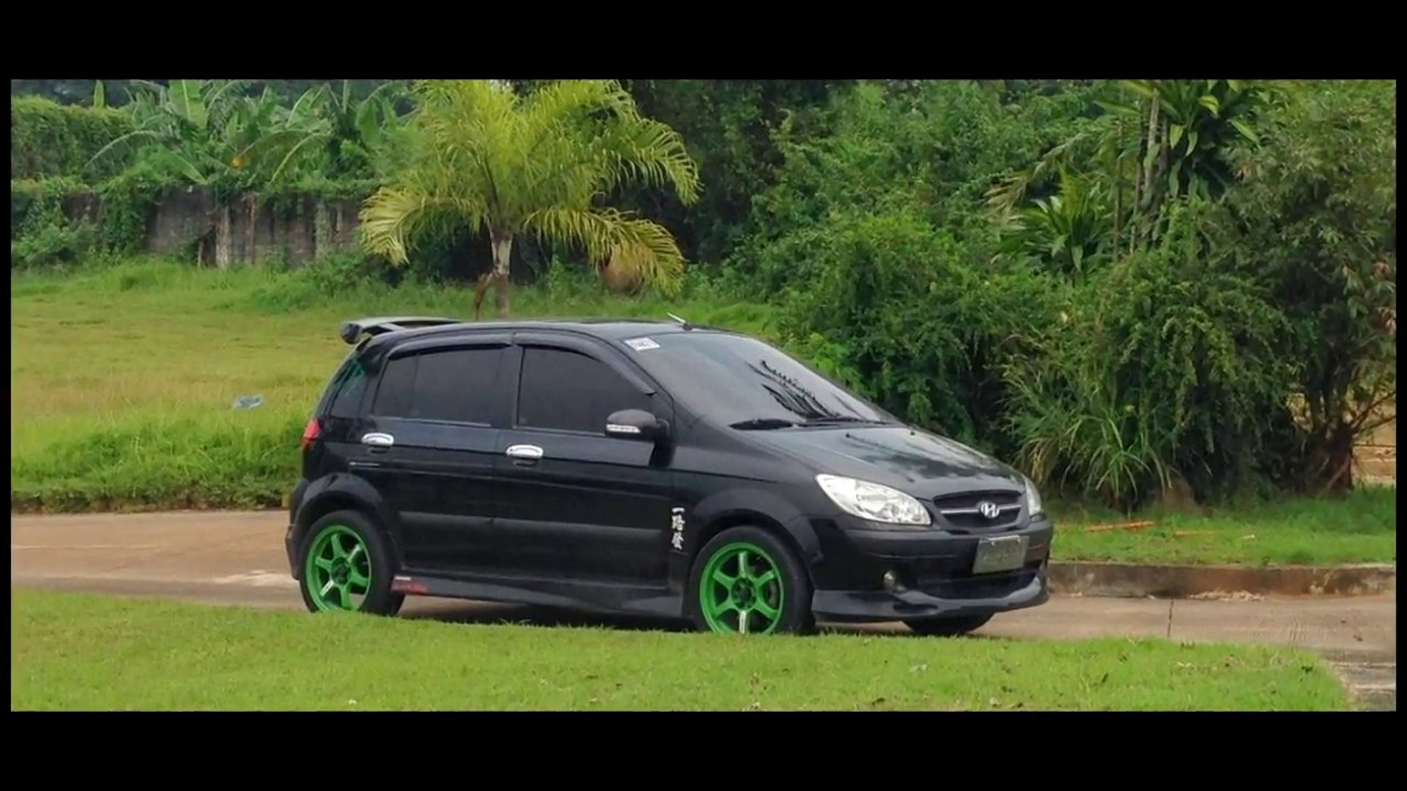 beautifully modified hyundai getz youtube. Black Bedroom Furniture Sets. Home Design Ideas