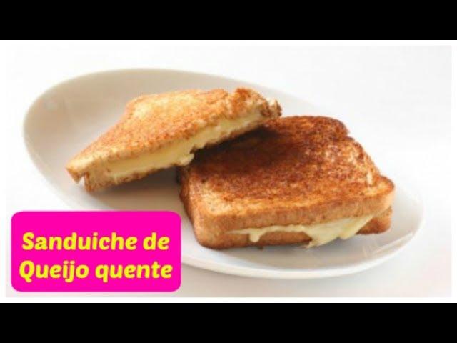 Sanduíche de queijo quente.