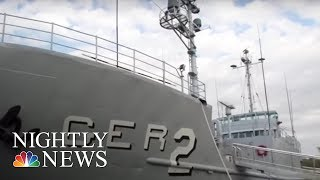 50 Years After North Korea Captured The USS Pueblo, The Ship Is Still On Display | NBC Nightly News
