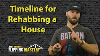 Creating a Rehab Timeline When Flipping Houses